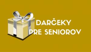 Vianočné darčeky pre seniorov