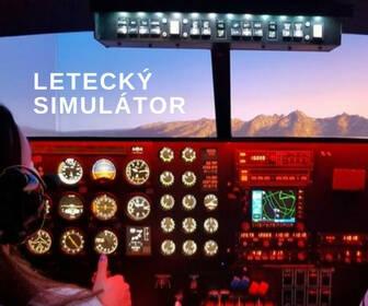 letecky simulator