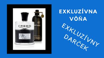 luxusné vône pre muža